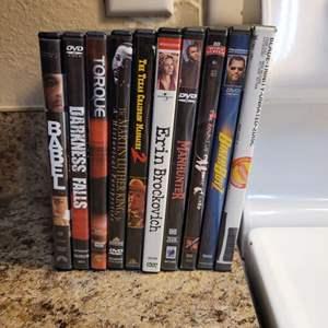 Lot # 331 Assortment of DVDs
