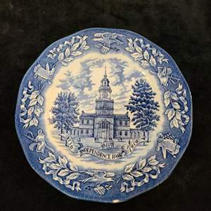 Lot # 367 Avon Independence Hall by Wedgwood Collector's Plate