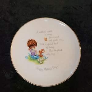 Lot # 369 Gigi Mother's Day Commemorative Plate