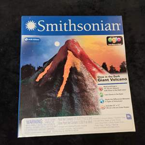 Lot # 380 Smithsonian Glow in the Dark Giant Volcano Kit