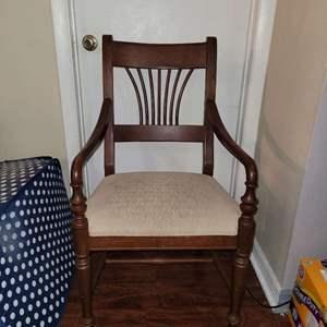 Lot # 388 Nice Vintage Arm Chair