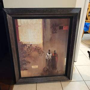 "Lot # 390 Framed Print ""On Their Way"" - Dennis Jully"