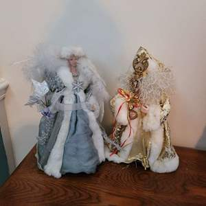 Lot # 406 (2) Tree Toppers