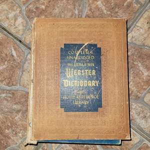 Lot # 409 1960 Websters Dictionary