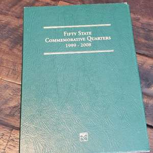 Lot # 429 Fifty States Commemorative Quarters Complete Book - 1999 to 2008