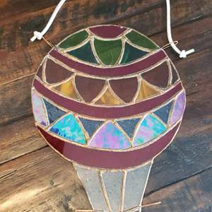 Lot # 444 Stained Glass Window Air Balloon
