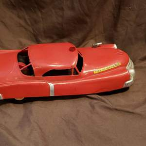 Lot # 446 Vintage Fire Department Toy Car