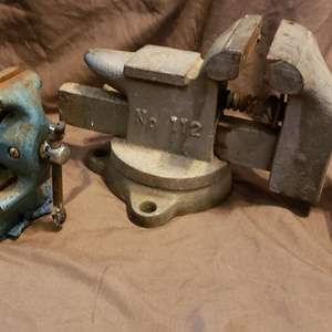 Lot # 450 Pair of Vintage Bence Vices