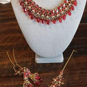 Lot # 460 Gorgeous Necklace w/ Matching Earrings