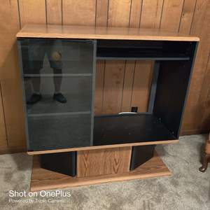 54 TV stand entertainment center