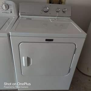 65 white Maytag dryer works great