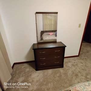 76 dresser and mirror