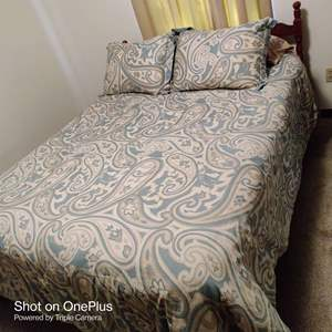 82 complete bed with coverings queen size bamboo mattress 16 in thick