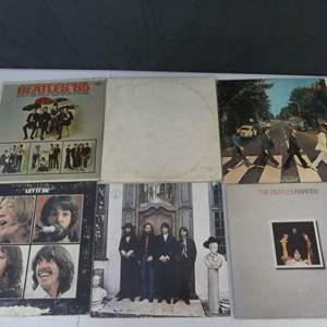 Lot #1 The Beatles Vinyl LPs (See Description)