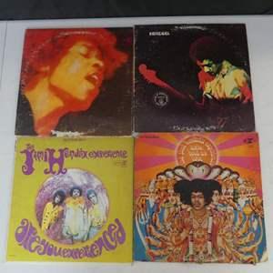 Lot #2 Jimi Hendrix Vinyl LPs (See Description)