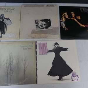 Lot #3 Fleetwood Mac and Stevie Nicks Vinyl LPs (See Description)