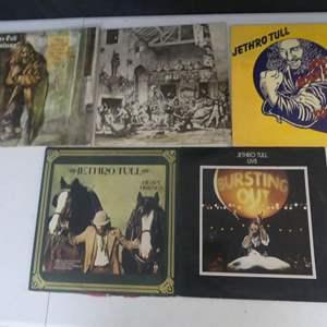 Lot #4 Jethro Tull Vinyl LPs (See Description)