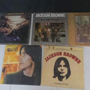 Lot #6 Jackson Browne Vinyl LPs (See Description)