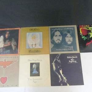 Lot #7 Dan Fogelberg & Tim Weisman Vinyl LPs (See Description)