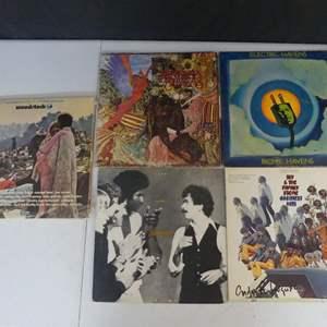 Lot #10 Woodstock & Artists Vinyl LPs (See Description)