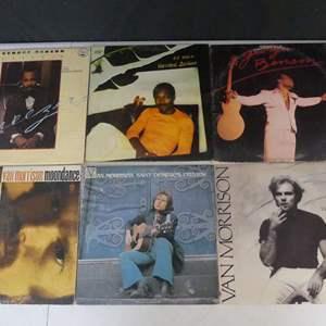Lot #11 George Benson & Van Morrison Vinyl LPs (See Description)