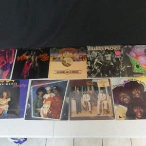 Lot #13 Disco Era Vinyl LPs (See Description)