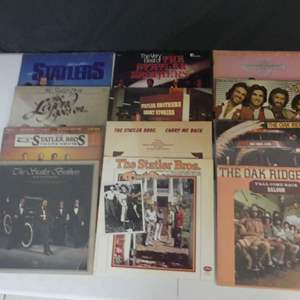 Lot #17 The Statler Brothers and The Oak Ridge Boys Vinyl LPs (See Description)