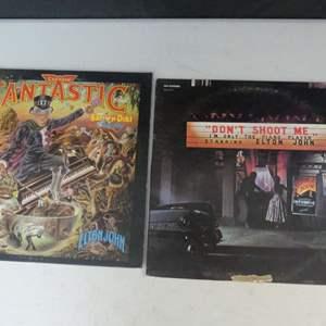Lot #19 Elton John Vinyl LPs (See Description)