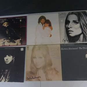 Lot #21 Barbra Streisand Vinyl LPs (See Description)