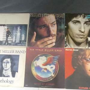 Lot #25 Some Rockin' Favorites Vinyl LPs (See Description)