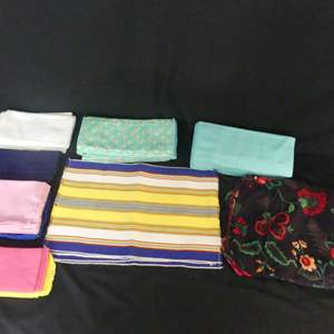 Lot #51 Placemats, Napkins and Dish Towels (See Description)