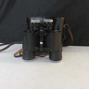 Lot #99 Vintage Belmont 8x50 ZCF Binoculars - In Case and Box