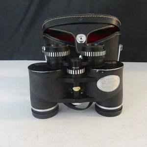 Lot #100 Vintage (c. 1970's) Sirius 7x35 Binoculars Model No. BW 735 in Case - Fully Coated Optics