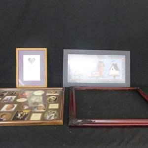 Lot #116 Framed Prints by Jody Houghton  & K. Jennings and Frames (See Description)
