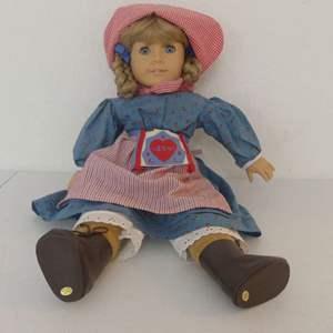 "Lot #128 Pleasant Company American Girl 18"" Porcelain Doll ""Kirsten Larson"" (Please See Description)"
