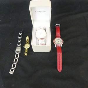 Lot #136 4 Watches (See Description)