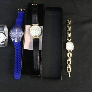 Lot #138 4 Watches (See Description)