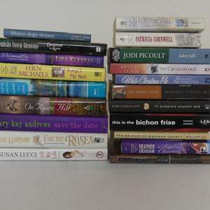 Lot #144 Lot of Romance and Other Books - Various Authors and Subject Matter