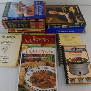 Lot #146 Large Lot of Cookbooks