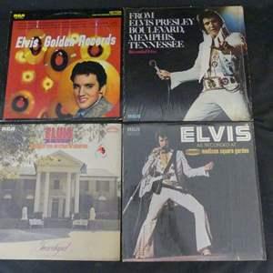Lot #211 Elvis Presley Vinyl LPs (See Description)