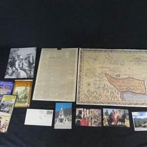 Lot #231 Bonanza/Virginia City Memorabilia