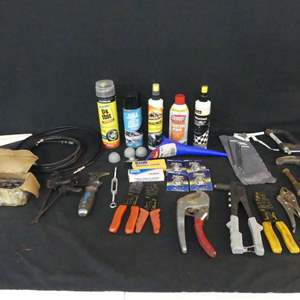 Lot #232 Tools and Automotive Goodies
