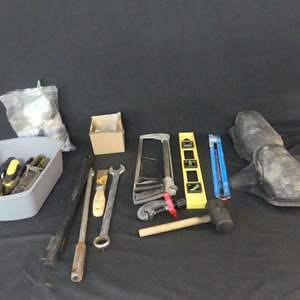Lot #249 Bin+ of Tools