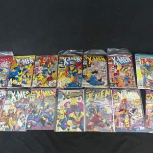 Lot #274 14 Marvel Comics including X-Men
