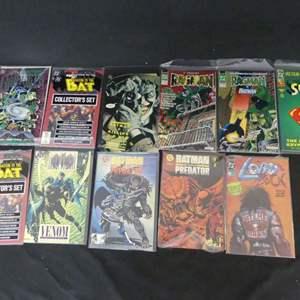 Lot #275 11 DC Comics including Batman and Superman