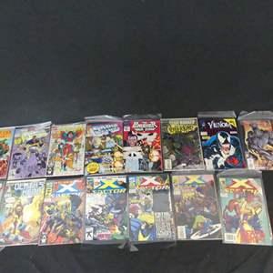 Lot #278 15 Marvel Comics including X-Factor