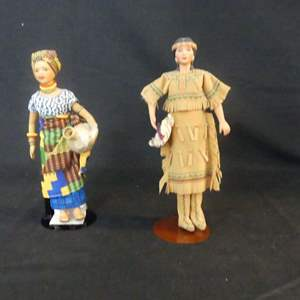Lot #294 Avon International Collection Porcelain Dolls - In Boxes (See Description)