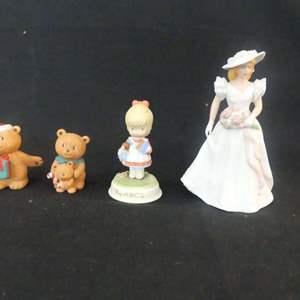 Lot #305 3 Avon Porcelain Figurines - In Boxes (See Description)