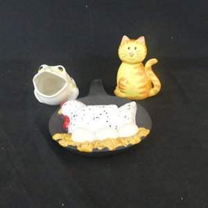 Lot #308 Ceramic Kitchen Decor (See Description)