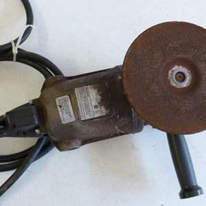 "Lot # 154  Vintage HEAVY Duty ""Wildcat"" Black Decker grinder"